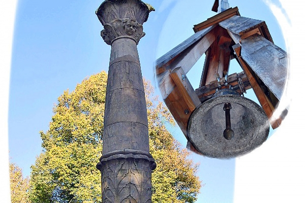 Kandelaber mit Glocke